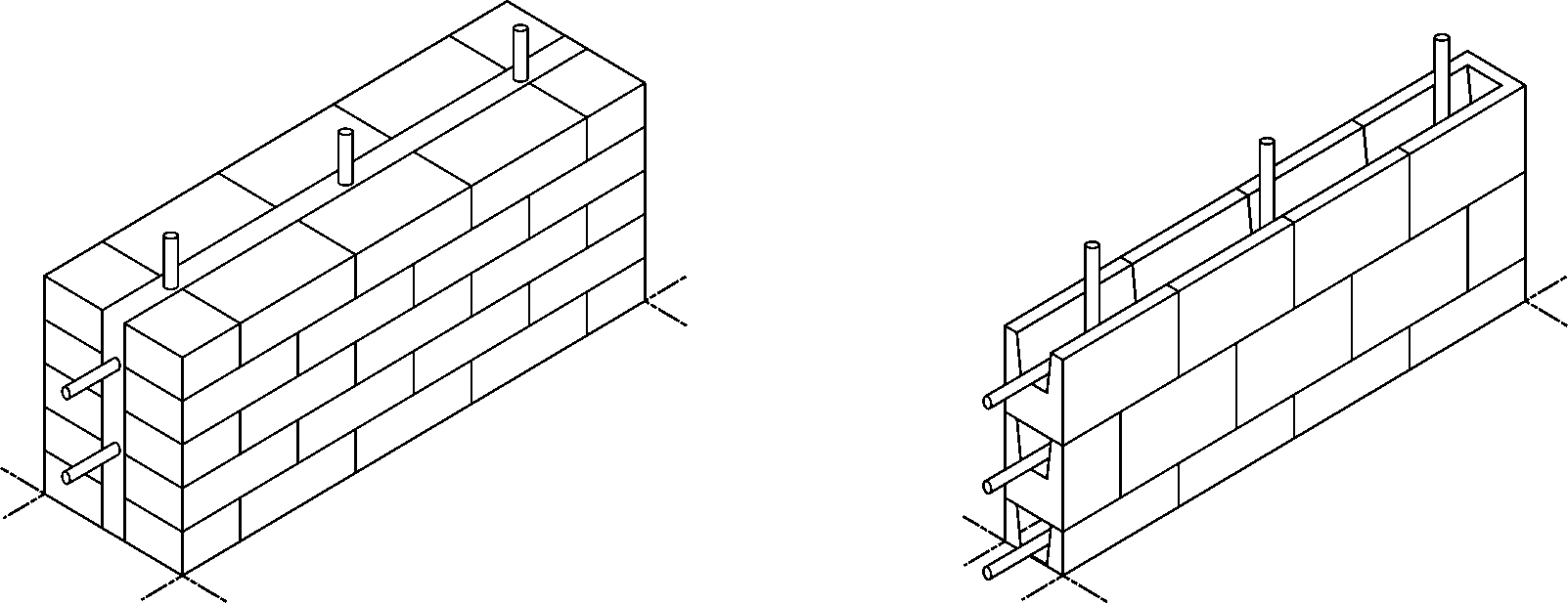 Reinforced Brick Wall Design : Chiarc  eq safe design